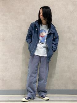 Lee 名古屋店のFuuyaさんのLeeのマウンテンパーカー/ジャケットを使ったコーディネート