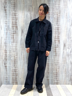Lee 名古屋店のFuuyaさんのLeeの【narifuri×Lee】高耐久ストレッチペインターパンツを使ったコーディネート