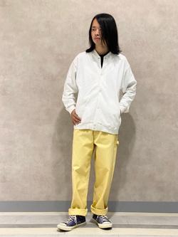 Lee 名古屋店のFuuyaさんのLeeのデニムポケット半袖Tシャツを使ったコーディネート