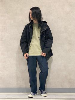 Lee 名古屋店のFuuyaさんのLeeのポケット付き 半袖Tシャツを使ったコーディネート