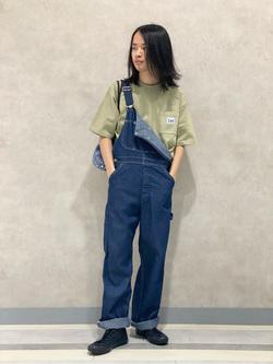 Lee 名古屋店のFuuyaさんのLeeの【SALE】ポケット付き 半袖Tシャツを使ったコーディネート