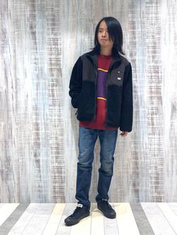 Lee 名古屋店のFuuyaさんのLeeのAMERICAN RIDERS 203 テーパードを使ったコーディネート