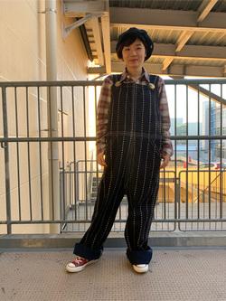 ららぽーと横浜のAyanaさんのLeeの【シークレットセーール!!】ワークシャツ 長袖を使ったコーディネート