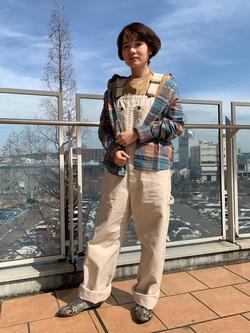 ららぽーと横浜のAyanaさんのLeeの終了【再値下げ!サマーセール】リンガーTシャツ 半袖を使ったコーディネート