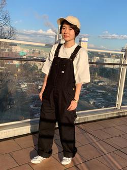 ららぽーと横浜のAyanaさんのLeeの終了【再値下げ!サマーセール】半袖スウェットを使ったコーディネート