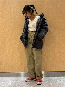 成田空港店(閉店)のKiraraさんのLeeの【シークレットセーール!!】Lee×Dickies ドッキングワークパンツ2【ユニセックス】を使ったコーディネート
