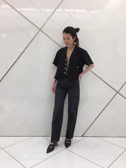 熊本COCOSA店のNANAKOさんのLeeの終了【サマーセール】ルーズフィットシャツ 半袖を使ったコーディネート