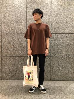 札幌パセオ店のsho-taさんのLeeの【ユニセックス】ヘビーウエイト Tシャツを使ったコーディネート