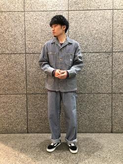 札幌パセオ店のsho-taさんのLeeのカバーオールジャケットを使ったコーディネート