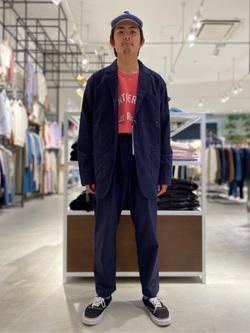 西宮ガーデンズ店のkotohさんのLeeの【セットアップ対応】ジャケットを使ったコーディネート