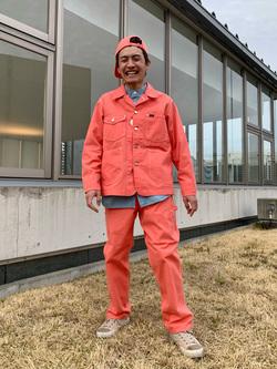 西宮ガーデンズ店のKazukiさんのLeeのバンドカラーシャツ/長袖を使ったコーディネート