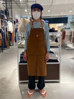 西宮ガーデンズ店のkotohさんのLeeの【ユニセックス】DUNGAREES ペインターパンツを使ったコーディネート