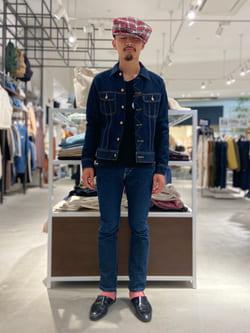 西宮ガーデンズ店のkotohさんのLeeの101J デニムジャケットを使ったコーディネート