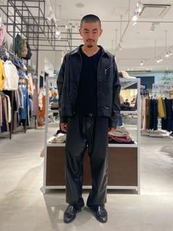 西宮ガーデンズ店のkotohさんのLeeのフェイクレザー ワークジャケットを使ったコーディネート