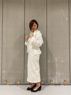 熊本COCOSA店のakiyoさんのLeeの終了【サマーセール】SEASONAL EDITION ウエストマークジャケットを使ったコーディネート