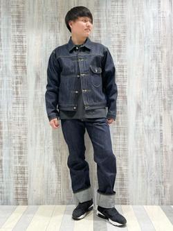 Lee 名古屋店のTomoさんのLeeの【Archives】WWII大戦モデル 101J COWBOY JACKETを使ったコーディネート