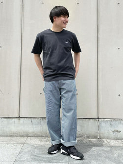 Lee 名古屋店のTomoさんのLeeのバックプリント 半袖Tシャツを使ったコーディネート