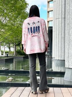 DENIM GALAXY南堀江店のR!さんのSOMETHINGのSOMETHING TOKYO SOME GIRLS ロングスリーブTシャツを使ったコーディネート