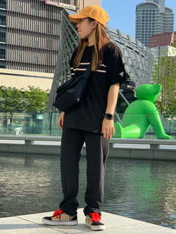 LINKS UMEDA店のR!さんのEDWINの終了【サマーセール】F.L.E プリントTシャツ 半袖 Aを使ったコーディネート