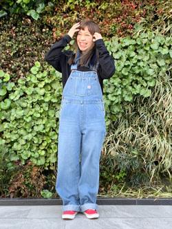LINKS UMEDA店のR!さんのEDWINの終了【サマーセール】OLD AD SUMIMASEN Tシャツ 長袖を使ったコーディネート
