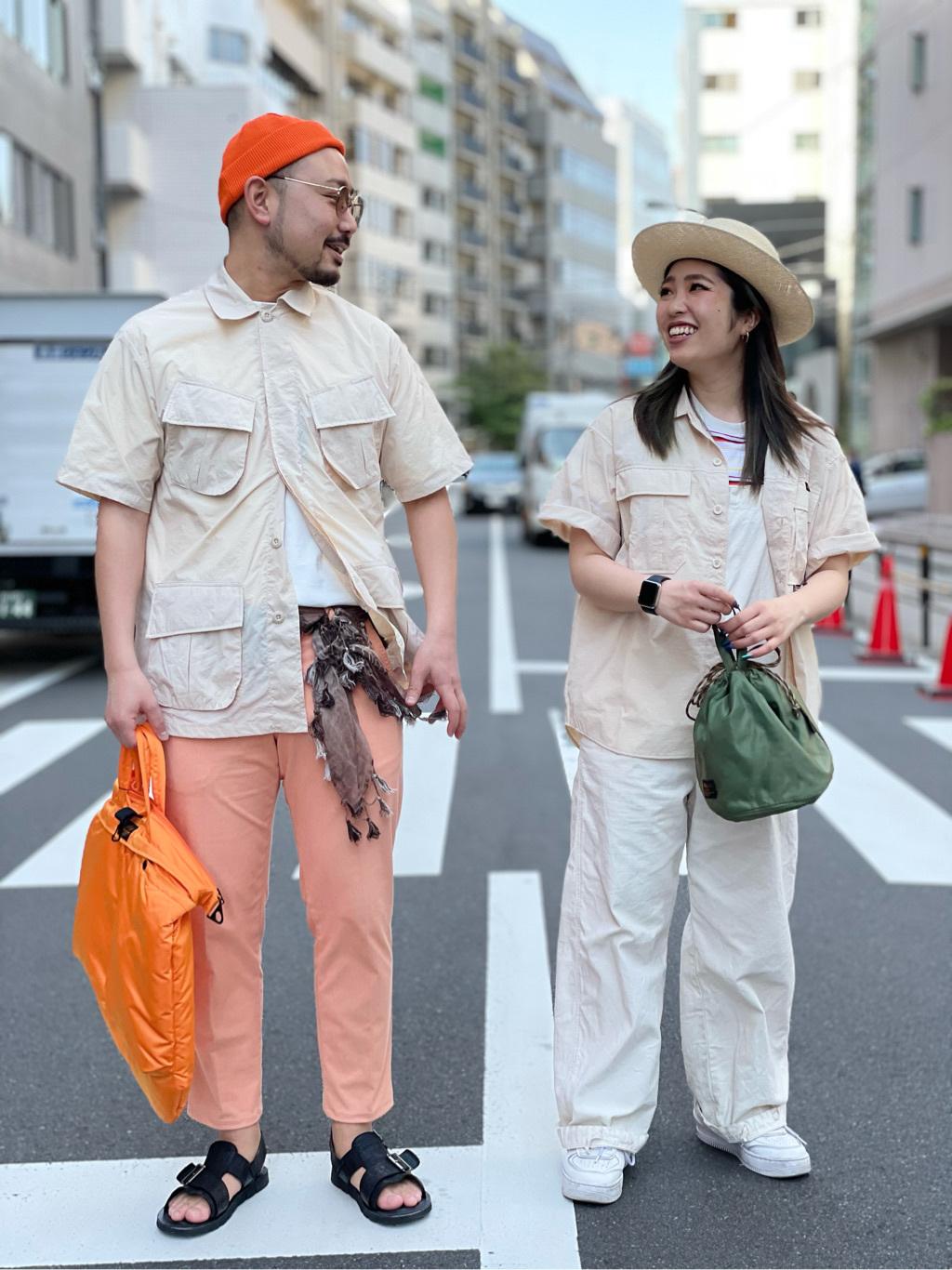 ALPHA SHOP渋谷店のmoe さんのALPHAのアスレチックシャツを使ったコーディネート