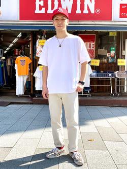 日暮里駅前店のシュンイチさんのEDWINの【期間限定10%OFF】503 レギュラーストレートを使ったコーディネート