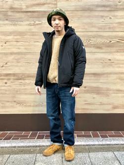 日暮里駅前店のシュンイチさんのEDWINの【決算SALE】F.L.E エアーサックジャケット (二層防風)を使ったコーディネート
