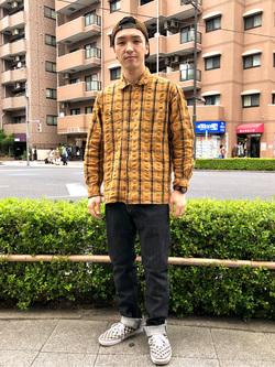 日暮里駅前店のシュンイチさんのEDWINの503 レギュラーストレートを使ったコーディネート