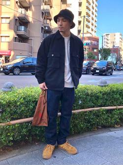 日暮里駅前店のシュンイチさんのEDWINのヘリンボーン CPO ジャケットを使ったコーディネート