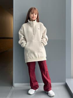 Lee アミュプラザ博多店のRenaさんののWRANCHER/ランチャー ドレスパンツ(レディース)を使ったコーディネート