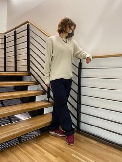錦糸町PARCO店のKaeさんのEDWINの【直営店限定】ペインターパンツを使ったコーディネート