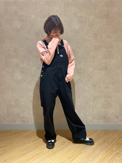 錦糸町PARCO店のKaeさんのEDWINの【直営店限定】オーバーオール【ユニセックス】を使ったコーディネート