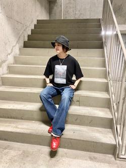 錦糸町PARCO店のKaeさんのEDWINの503 ルーズストレートを使ったコーディネート