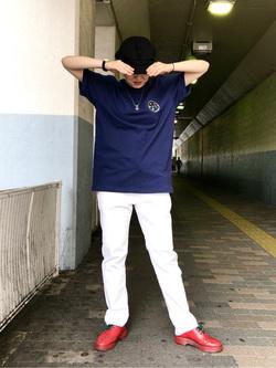 錦糸町PARCO店のKaeさんのEDWINの503 スリムテーパード 【レングス73cm】を使ったコーディネート