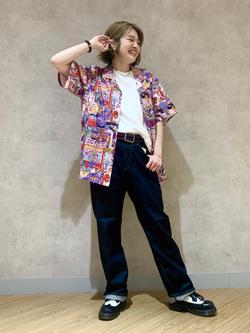 錦糸町PARCO店(閉店)のKaeさんのEDWINの終了【大きいサイズ】503 ルーズストレートを使ったコーディネート