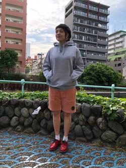 錦糸町PARCO店のKaeさんのEDWINの【直営店限定】スウェットパーカー(ヴィンテージ仕様)を使ったコーディネート