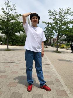 錦糸町PARCO店のKaeさんのEDWINのインターナショナルベーシック 407 ふつうのスリムを使ったコーディネート