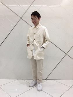 熊本COCOSA店のTsubasaさんのLeeのARCHIVES ウエスターナーパンツを使ったコーディネート