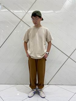 熊本COCOSA店のTsubasaさんのLeeの【ユニセックス】ヘビーウエイト Tシャツを使ったコーディネート