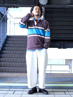 DENIM GALAXY日暮里店のMogiii!!!さんのEDWINの【通販限定】YELLOW TAB HAKAMAを使ったコーディネート
