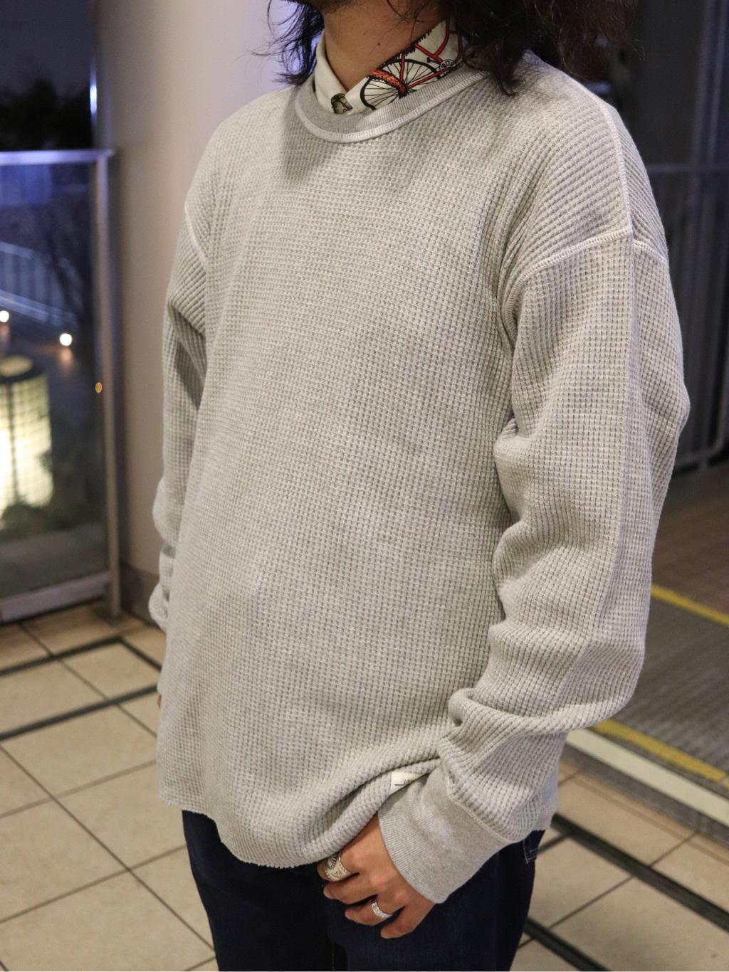 DENIM GALAXY日暮里店のMogiii!!!さんのEDWINのワッフル ロングスリーブTシャツを使ったコーディネート