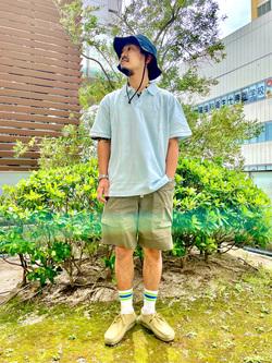 DENIM GALAXY日暮里店のMogiii!!!さんのEDWINのアロハ 半袖シャツを使ったコーディネート