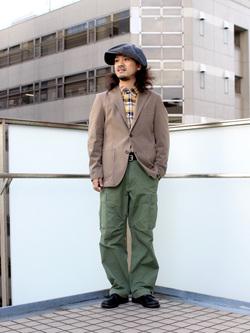 DENIM GALAXY日暮里店のMogiii!!!さんのEDWINの【再値下げSALE】デニスラ テーラードジャケットを使ったコーディネート