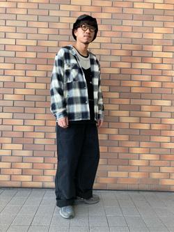 アミュプラザ長崎店のdaichiさんのLeeの【トップス15%OFFクーポン対象】【さらっと羽織れる】シャツジャケットを使ったコーディネート