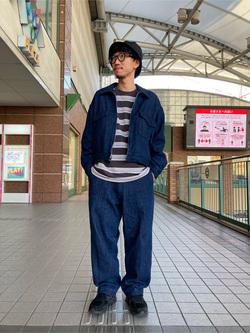 アミュプラザ長崎店のdaichiさんのLeeの【セットアップ対応】チェトパ ジャケットを使ったコーディネート