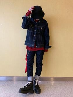 成田空港店(閉店)のSyoutaさんのLeeの101J デニムジャケットを使ったコーディネート