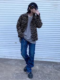 成田空港店(閉店)のSyoutaさんのLeeのAMERICAN RIDERS 102 ブーツカットジーンズを使ったコーディネート