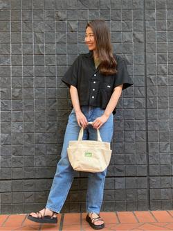 大阪店のAYAHOさんのLeeのSTANDARD WARDROBE テーパードを使ったコーディネート