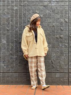 大阪店のAYAHOさんのLeeの【Pre sale】TRAD GIRL ダッド トラウザーパンツを使ったコーディネート