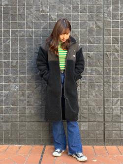 大阪店のAYAHOさんのLeeのSTANDARD WARDROBE フレアーを使ったコーディネート